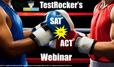 testrocker SAT vs or ACT