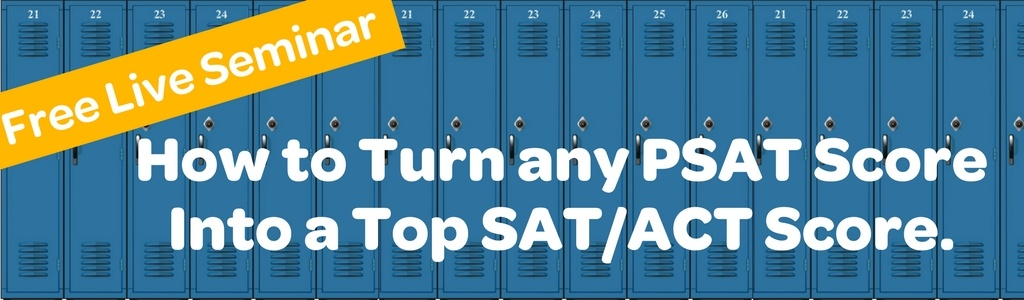 how to turn a psat score into a great sat  act score