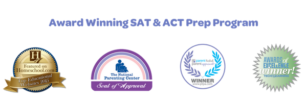 award winning SAT & ACT prep program