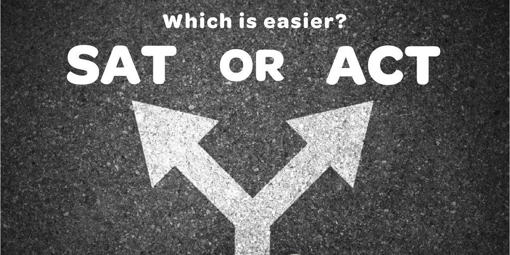 is the sat or act easiest?